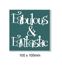 Fabulous and fantastic.100 x 100 min buy 5 packs